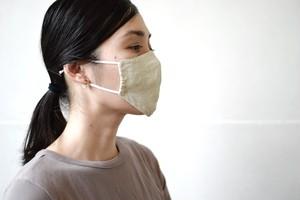 linen mask / miho umezawa