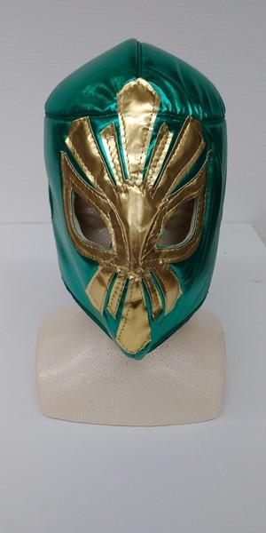 メキシコ製応援マスク ミスティコ(グリーン)