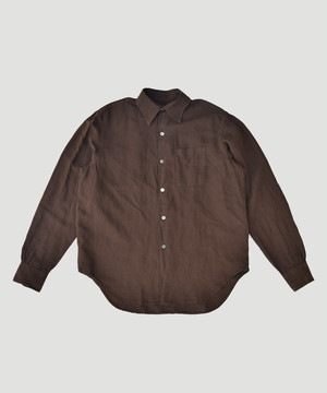 OUR LEGACY Policy Shirt Brown M1932PC