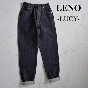 """LENO/リノ・""""LUCY"""" HIGH WAIST TAPERED JEANS -NON WASH-"""
