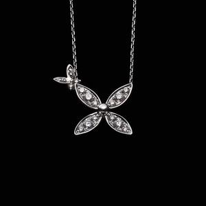jg <TimelessFlower> ネックレス K18/ダイヤモンド