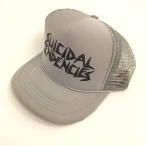 SUICIDAL TENDENCIES / スイサイダルテンデンシーズ : キャップ シルバー×ブラック