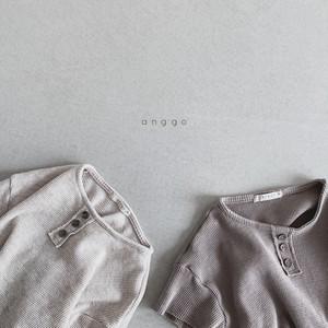 【2021SS予約】【anggo】Wafers T-shirt
