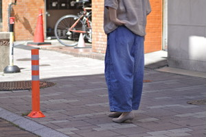 【ORDINARY FITS】BALL PANTS denim used
