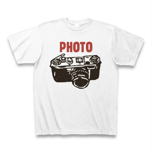 PHOTO Tシャツ ホワイト