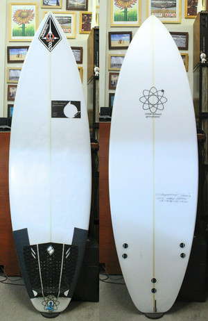ATOM Surfboard J-MSX 5'8″ USED アトムサーフボード