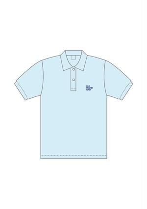 nomorewarポロシャツ【ライトブルー】