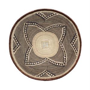 トンガ族の平かご S 14  / Tonga Flat Basket S 14