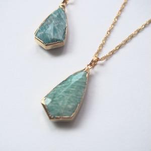 amazonite necklace(04-016)