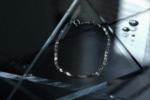 #01.【SCREW】× chain braelet  × 925silver