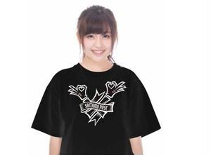 【公式】埼玉ポーズTシャツ(黒)