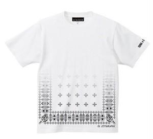 WHITE[YUNA×LOWRANK]コラボTシャツ(※数量限定)