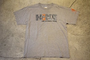 USED Florida Trail T-shirt 00s T0397