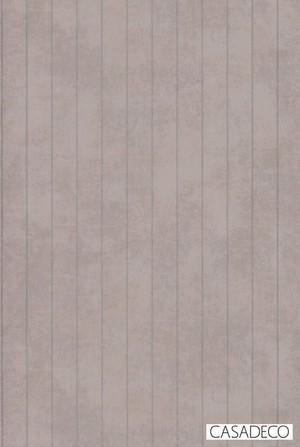 輸入壁紙【CASADECO カサデコ】8081 18 24 グレー ピンクベージュ トープ グレージュ シルバー ストライプ フリース