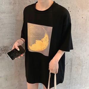 【トップス】韓国系半袖プリントラウンドネックTシャツ26974197