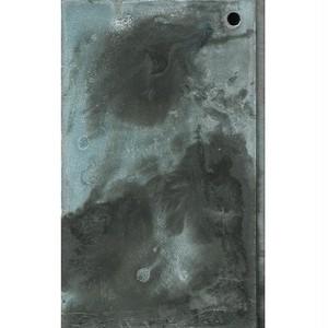 「鳥」 廃材の板にアクリル * 現代アート 絵画 書 内野隆文 takafumiuchino
