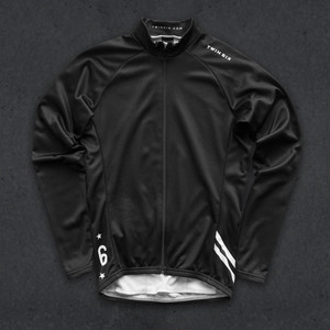 TwinSix the classic long sleeve jersey / black SIZE:M