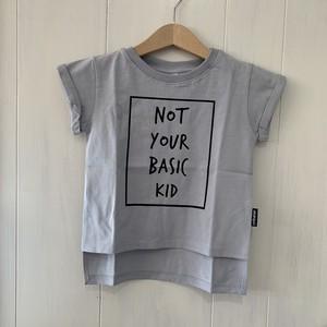 cribstar NOT YOUR BASIC KIDTシャツ(gray)