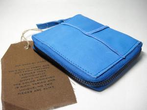 Cut n' Paste Folding Wallet (washigton/Cobalt blue)