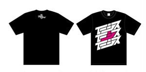 イーシス✖︎D-High-LoW Tシャツ(ホワイト・ブラック)