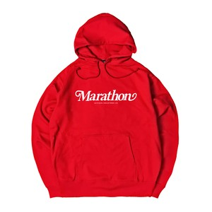 NICE LOGO HOODIE M381502-RED / フード スウェット パーカー 赤 MARATHON JACKSON マラソン ジャクソン