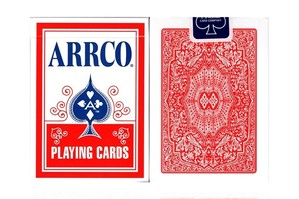 ARRCO Playing Cards (Red)