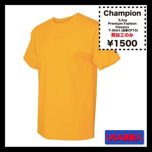 Champion 5.5oz Premium Fashion Classics Short Sleeve T-Shirt (品番CP10)