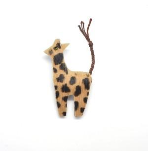【urban animal】 キリン ブローチ