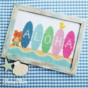 【図案】ALOHA Boards