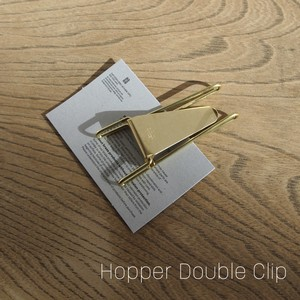 Hopper Double Clip [GOLD]  マネークリップ