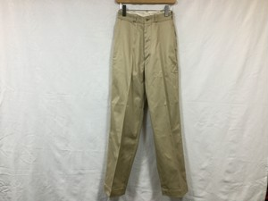 "LENO "" WIDE CHINO TROUSERS "" BEIGE"