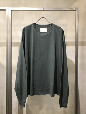 TrAnsference wide fit long sleeve T-shirt - dark forest