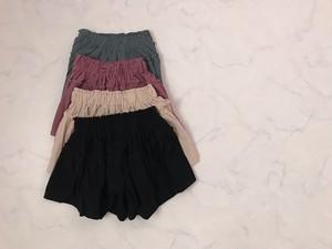 〔即納〕culotte skirt