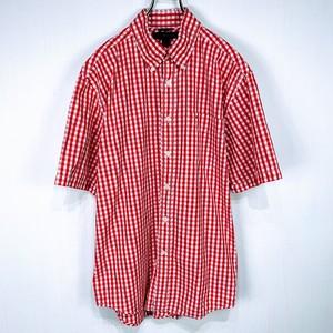 【TOMMY HILFIGER】 Short-sleeved shirt