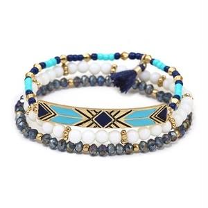 Mix Beads 3 line Bracelet (FB1224)