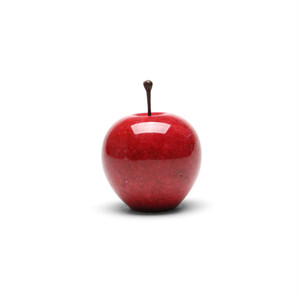 Marble Apple (マーブルアップル) SMALL【RED】Paper Weight (ペーパーウェイト)