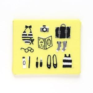 『トラベル』刺繍パネルキット