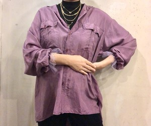 Silk remake shirt 【Vintage product】