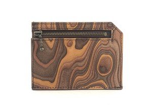 MAGNET Slim Wallet  Wood Brown