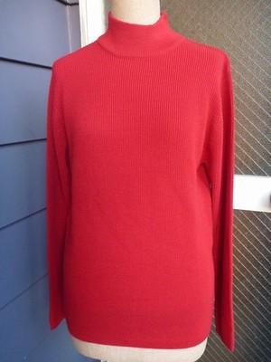 アパレルメーカー 真っ赤なセーター M USED