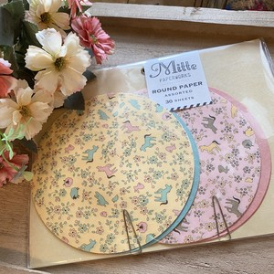 ROUND PAPER ASSORTED