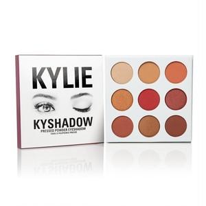 カイリーコスメティック / Kylie Cosmetics The Burgundy Palette KYSHADOW 新作 9色アイシャドウパレット