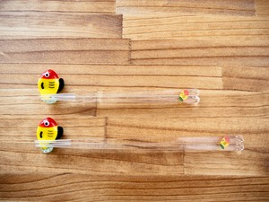 黄ぶなっこ透明箸(大)