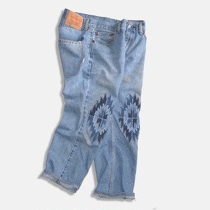 WCH Remake CHIMAYO Denim Patchwork Jeans -01