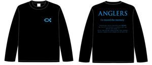 ANGLERS ロングTシャツ 2(BLACK)