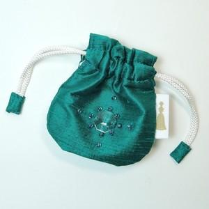 巾着SS  green