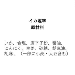 イカ塩辛(100g)