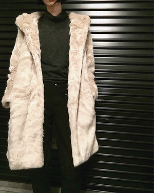Cigarette&Valentine long fur coat