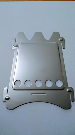 エンバーリットストーブ ステンレス製 側面パネル単品