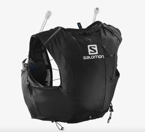 Salomon サロモン ADV SKIN 8 ウィメンズ - 女性用ランニングベスト ブラック/エボニー(フラスク付) LC1514100  BLACK / EBONY